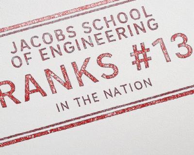 UC San Diego Jacobs School of Engineering Ranked #13 in 2018 U.S. News and World Report Graduate School Rankings