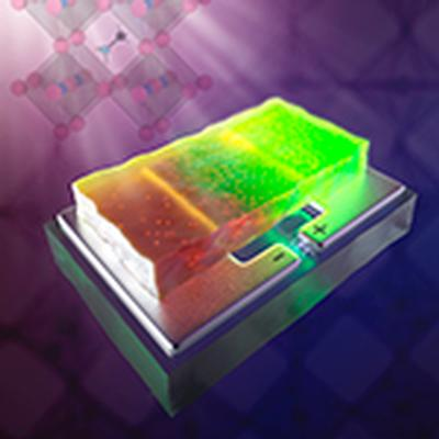 Watching atoms move in hybrid perovskite crystals reveals clues to improving solar cells