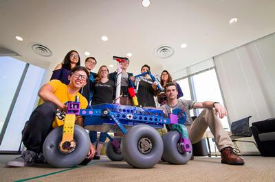 UC San Diego Mars rover team sets their sights on top 10 finish