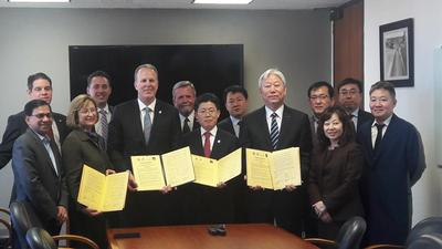 San Diego, Korea team up to tackle transportation
