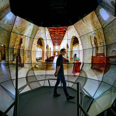 From Star to Sun: The Qualcomm Institute's CAVE Expands