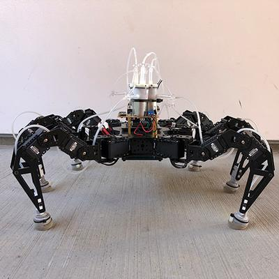 These flexible feet help robots walk faster