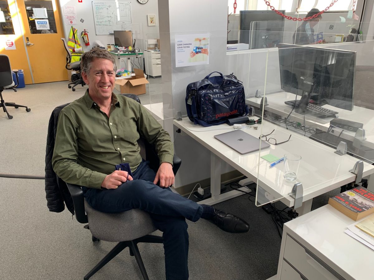 UC San Diego Alumnus at Helm of Company Behind First At-Home COVID Test